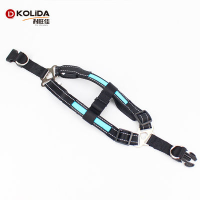 Rechargeable Sport LED Dog Harness Soft With Battery Flashlight