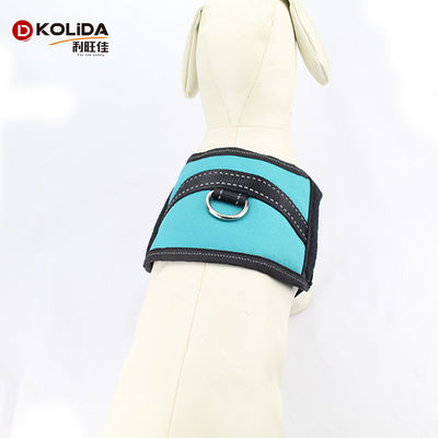 Custom Service Flashing Safety LED Dog Vest Harness , Led Nylon Dog Collar